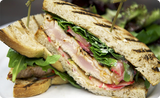 Grilled Albacore Tuna Sandwich with SMS Wasabi Soy Dressing