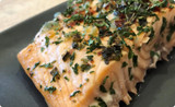 Garlic Butter Baked Salmon Recipe