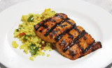 Sweet & Savory Salmon with Couscous Salad