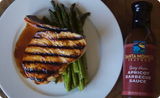 Grilled Swordfish with Santa Monica Seafood Spicy Asian Apricot Barbecue Sauce