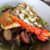 Cooked Lobster Tail over Chilean Sea Bass