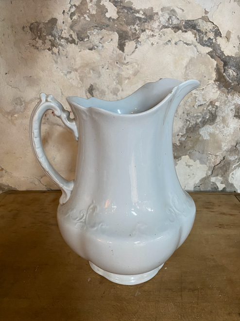 English Ironstone Pitcher-Sold