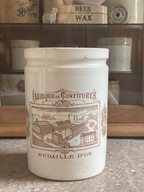 Medaile D'or confitures pot