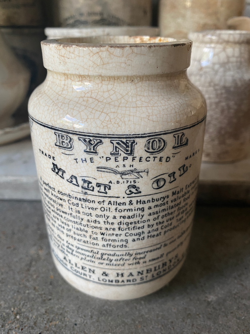 Bynol Malt Pot-Sold