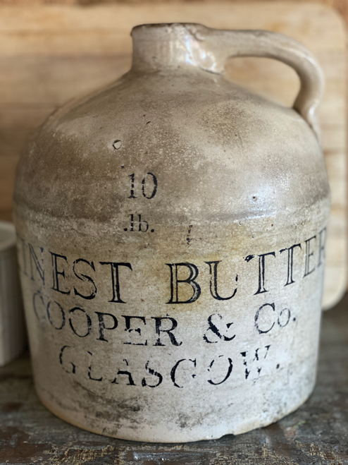 Very Old  Hand Lettered Jug-Sold