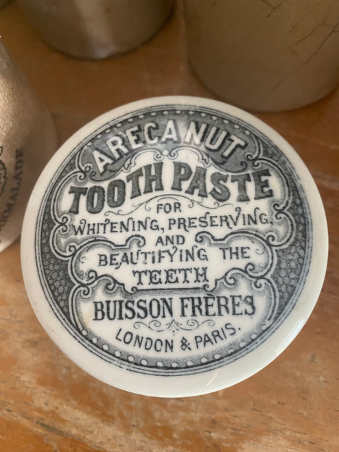 English ironstone toothpaste