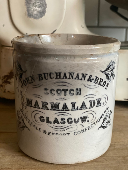 Rare Buchanan's & Bros Glascow Marmalade-Sold