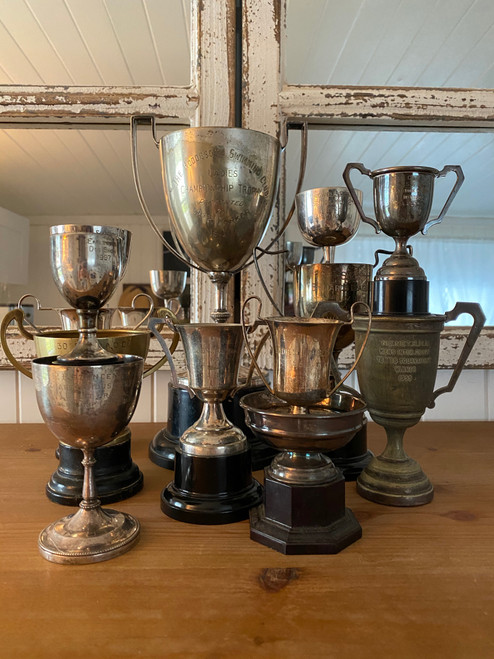 Antique English trophy