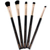 NYX In Your Element Metal 5-Piece Brush Set with Bag