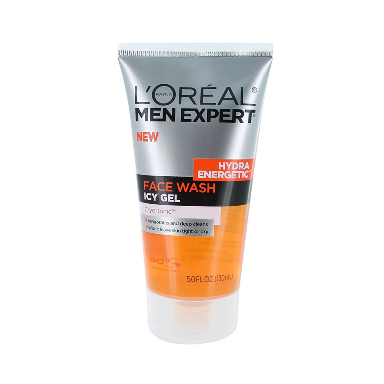 Loreal Mens Expert Hydra Energetic Icy Gel Face Wash