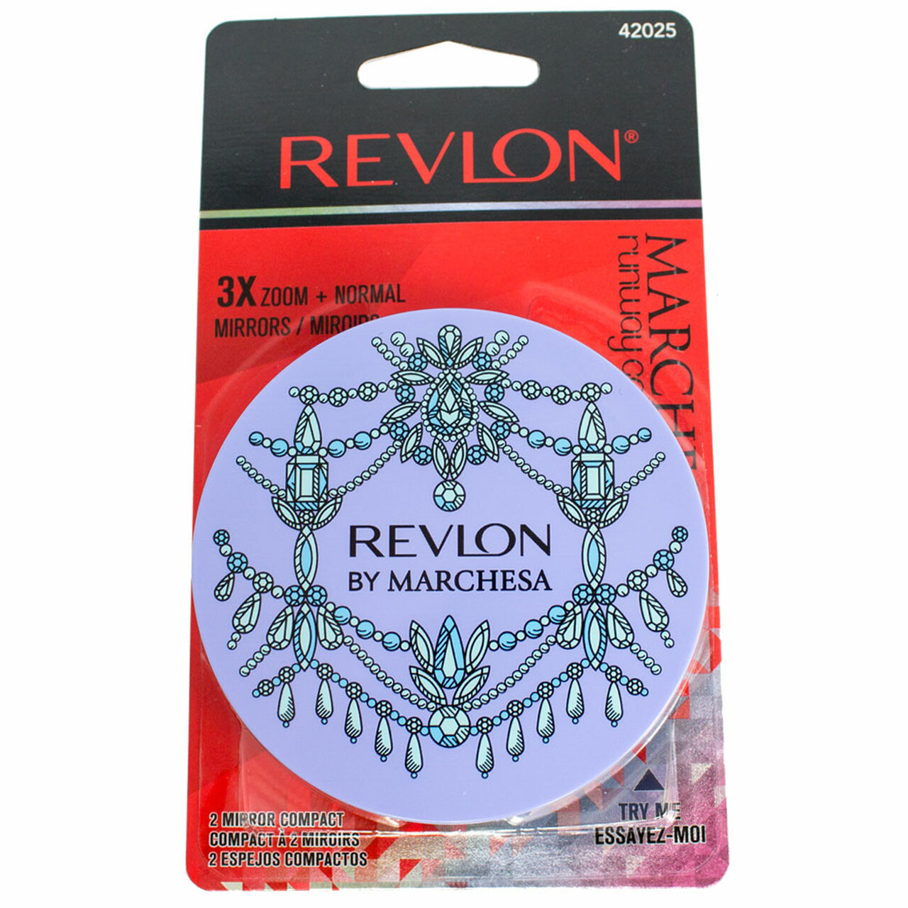 30a3c5de4e Revlon Designer Collection Double Travel Mirror - BuyMeBeauty.com