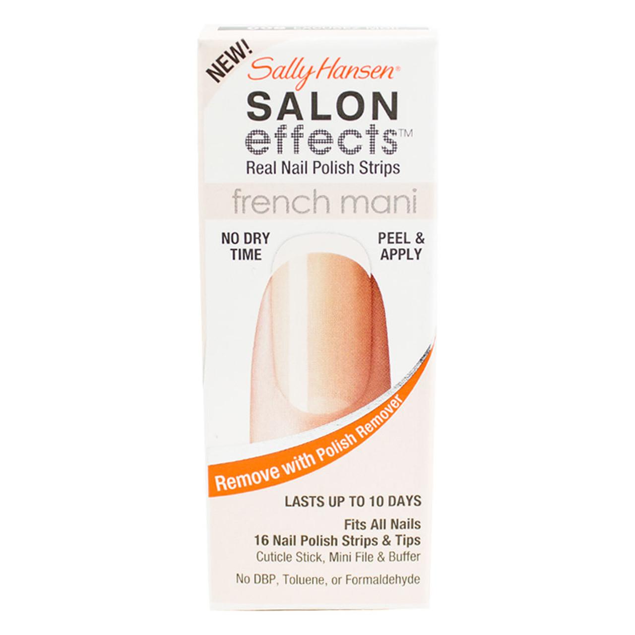 Sally Hansen Salon Effects Real Nail Polish Strips - BuyMeBeauty.com