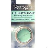 Neutrogena Lip Nutrition Soothing Mint Lip Balm