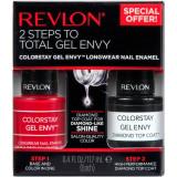 Revlon ColorStay Gel Envy Nail Enamel & Top Coat Value Pack