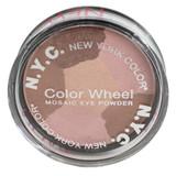 NYC New York Color Color Wheel Mosaic Eye Powder - 822B Pink Cadillac