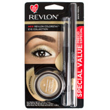 Revlon Colorstay Eye Collection 3-Piece Shadow & Liner Set - Gold
