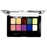 Revlon Colorstay Color Charge 10-Pan Eye Shadow Palette - 100 Color Collage