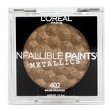 Loreal Infallible Paints Metallics Eye Shadow - 402 Brass Knuckles