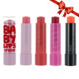 Maybelline Baby Lips Moisturizing Lip Balm 4-Pack