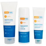 Acne Free Sensitive Skin 3-Step 24 Hr Acne Clearing System