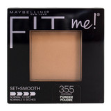 Maybelline Fit Me Set + Smooth Pressed Powder - 355 Coconut