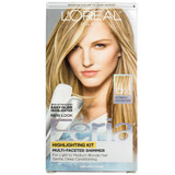 Loreal Feria Multi-Faceted Shimmering Highlighting Kit - C100 Extremely Light Blonde