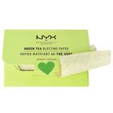 NYX Green Tea Face Blotting Paper, 100 Sheets