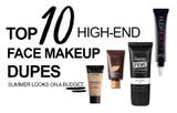 Top 10 High-End Face Makeup Dupes