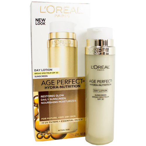 loreal age perfect hydra nutrition spf 30 day lotion