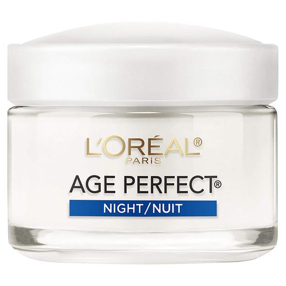Loreal Age Perfect Anti-Sagging Hydrating Night Cream, 2.5 Oz.