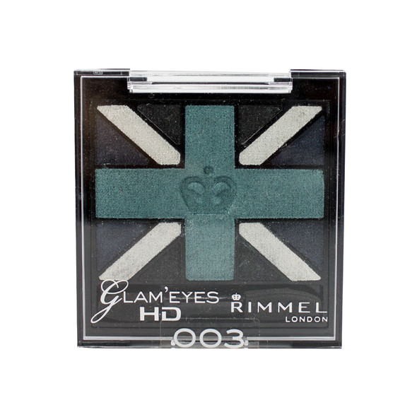 Rimmel Glam'Eyes HD Eye Shadow Quad