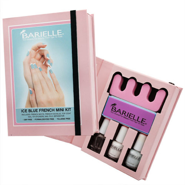 Barielle Ice Blue French Mini Kit