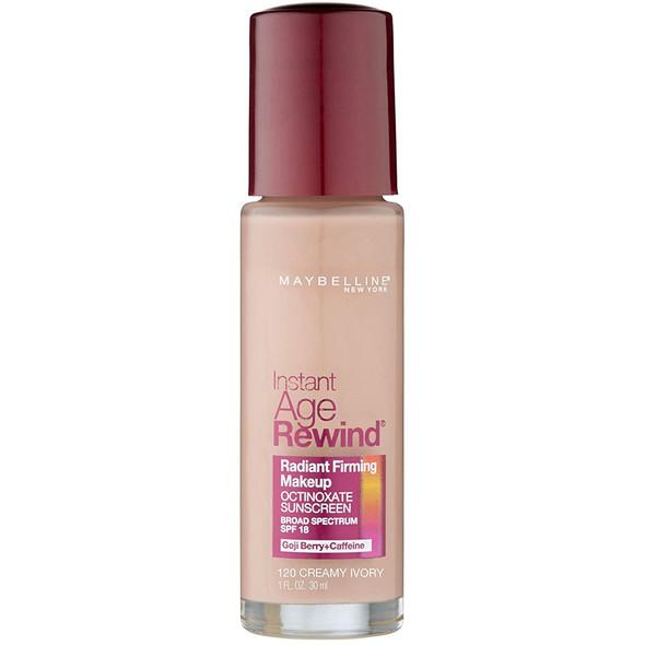 Maybelline New York Instant Age Rewind Radiant Firming Makeup, SPF 18, 1 fl. oz.