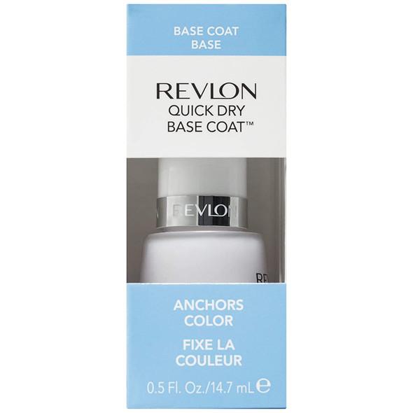 Revlon Quick Dry Base Coat, 0.5 fl. oz.