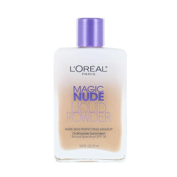 Loreal Magic Nude Liquid Powder Bare Skin Perfecting Makeup
