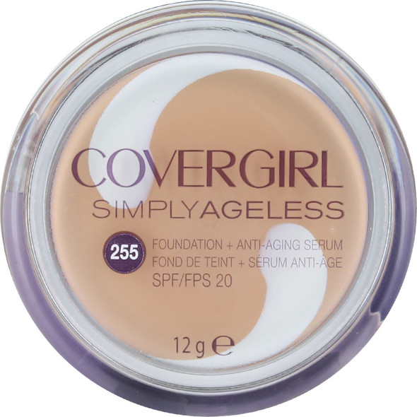 CoveGirl Simply Ageless Foundation + Anti-Aging Serum