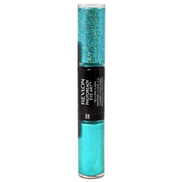 Revlon Photoready Eye Art Lid + Line + Lash - 010 Green Glimmer