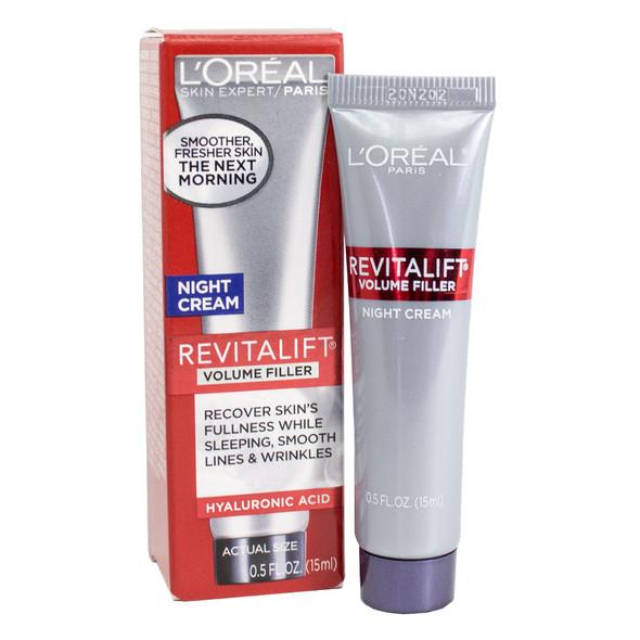 Loreal Revitalift Volume Filler Night Cream 0.5 oz.