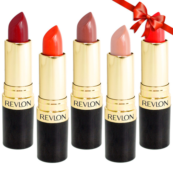 Revlon Super Lustrous Lipstick 5-Pack