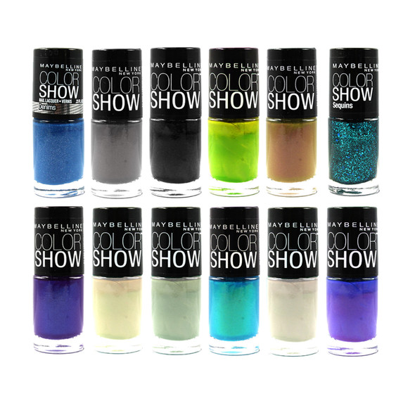 Maybelline Color Show Nail Lacquer 12-Pack