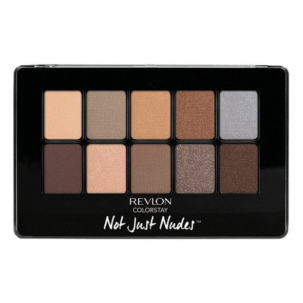 Revlon Colorstay Not Just Nudes 10-Pan Eye Shadow Palette - 1