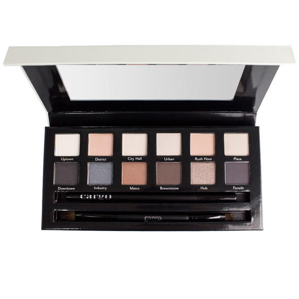 Cargo Cosmetics THE ESSENTIALS 12-Pan Eye Shadow Palette