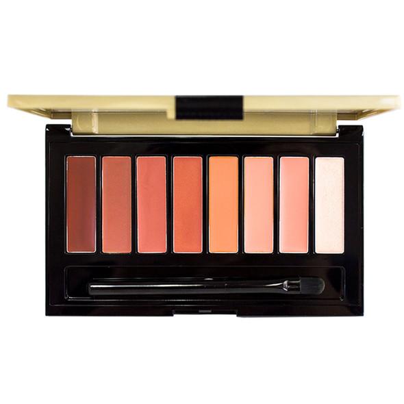 Loreal La Palette Lip 8-Pan Lipcolor Palette, Nude