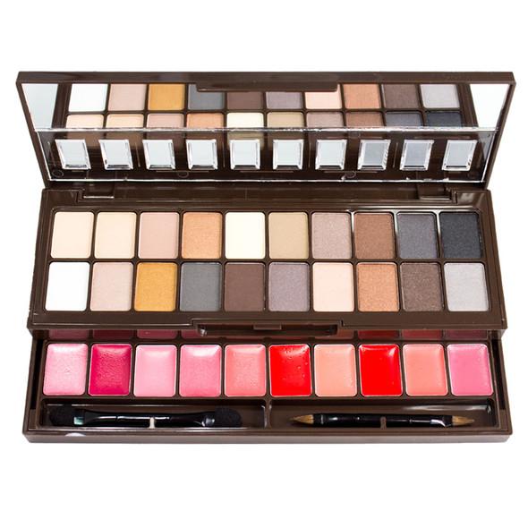 NYX Nude On Nude 30-Pan Eye & Lip Makeup Palette