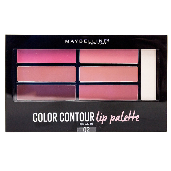 Maybelline Color Drama Lip Contour Kit - 02 Blushed Bombshell