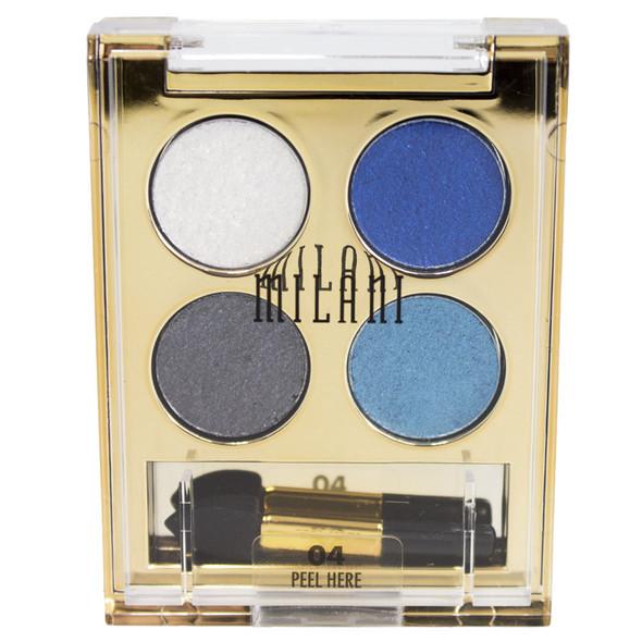 Milani Fierce Foil Eyeshine Quad Eye Shadow