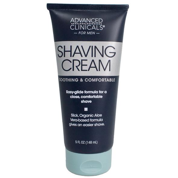 Advanced Clinicals for Men Shaving Cream 5 Fl Oz