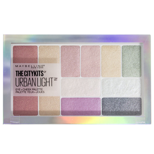 Maybelline The City Kits All in One Eye & Cheek Palette - Urban Lights