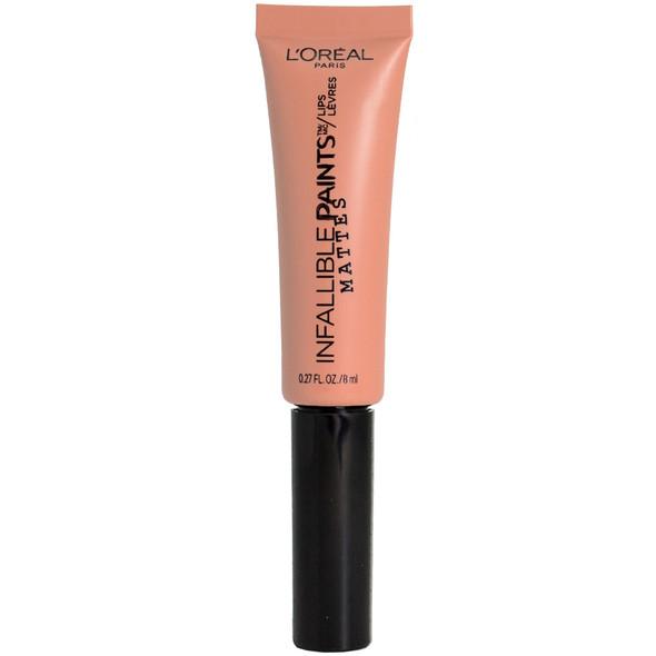 Loreal Infallible Lip Paint Matte Liquid Lipstick - 340 Skinny Dip