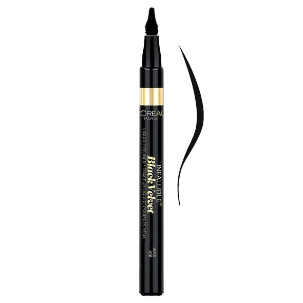 Loreal Infallible Black Velvet Liquid Eyeliner - 903 Black